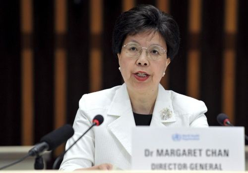 Dr. Margaret Chan, Director General of the WHO