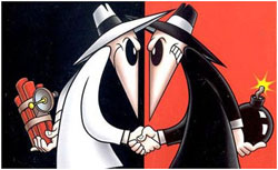 spy-vs-spy color red.