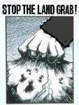 stop the land grab dark