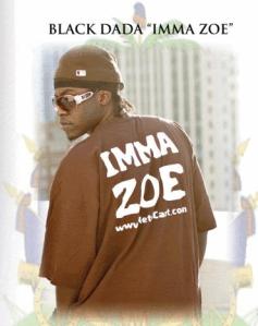 Black-dada Imma Zoe cropd
