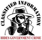 classifiedInfo hides gov crime