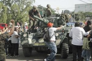 Honduras Coup tank