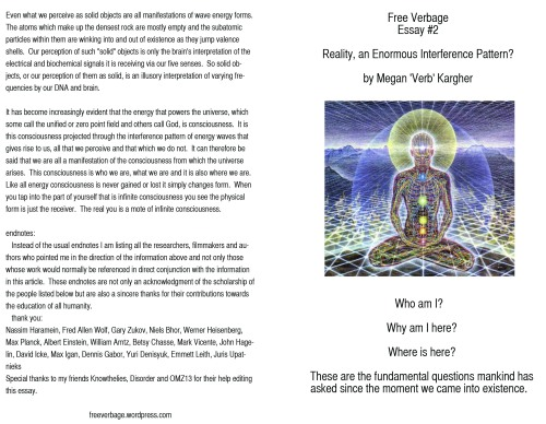 essay 2 front and back flyer