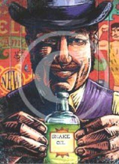 snake oil toon 237x327