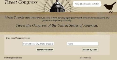 Follow @tweetcongress on Twitter