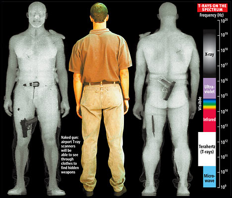 Full-body scanners may damage human DNA | COTO Report