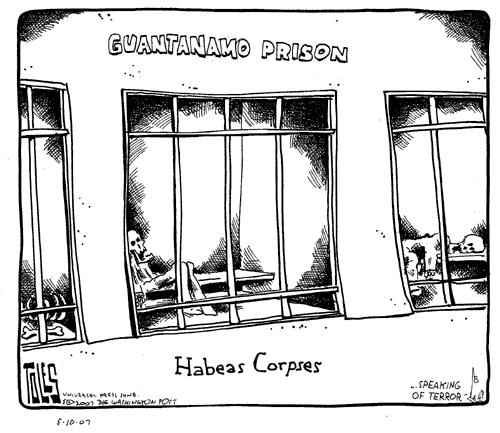 guantanamo bay and habeas corpus