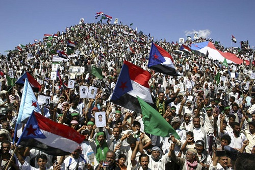 Protest of the Southern Movement in Yemen