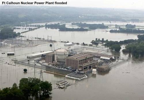 Midwest Floods: Both Nebraska Nuclear Power Stations Threatened