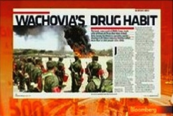 wachovia drug money launderer