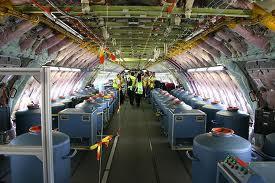 chemtrail plane load