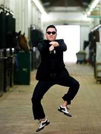 Screenshot from psy gangman style
